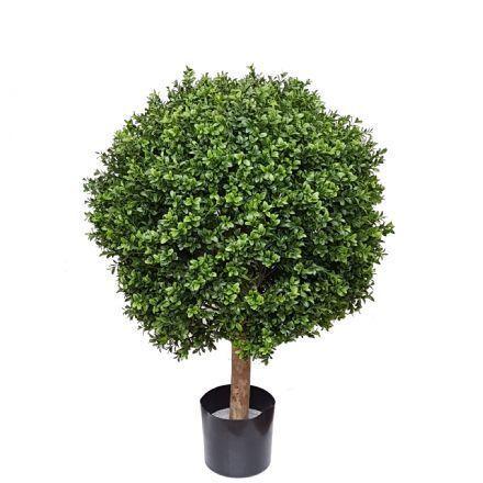 salg af Buksbom kugle, Ø45*H65 cm. - kunstige træer