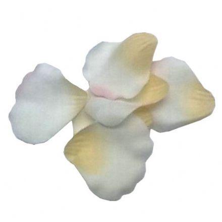 salg af Rosenblade, hvid/rosa - 50 stk. - kunstige blade