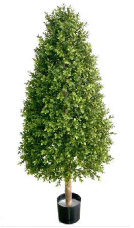 salg af Buksbom pyramide 130 cm. - kunstige træer