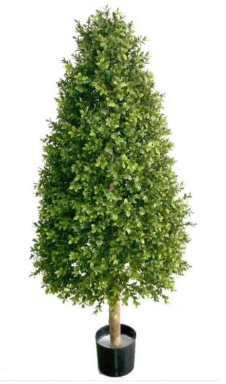 salg af Buksbom pyramidetræ, 125 cm. - kunstige træer