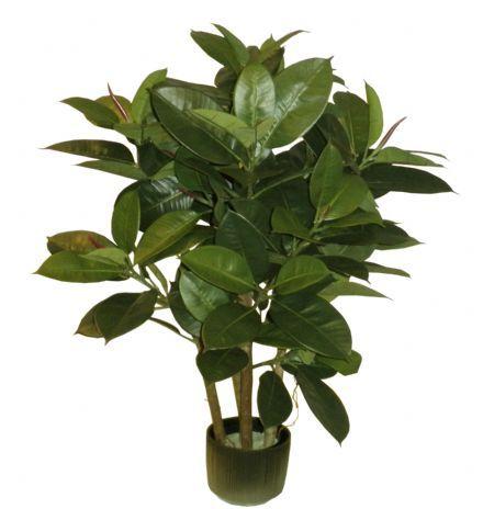 salg af Gummiplante 90 cm. - kunstige træer