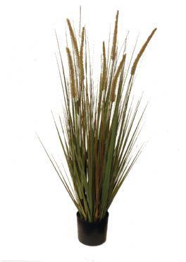 salg af Græs i potte m/rævehaler - 90 cm. - kunstig græs
