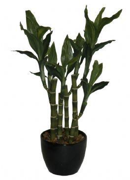 salg af Bambus 40 cm. i potte - kunstig plante - kunstig blomst