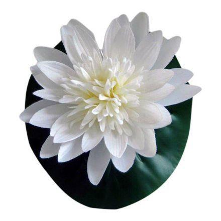 salg af Åkande hvid, 20 cm. - kunstige blomster
