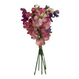 salg af Ærteblomster, 6. ass farver, 35 cm - kunstige blomster