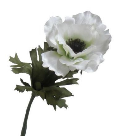 salg af Anemone, hvid 35 cm. - kunstige blomster
