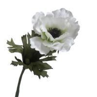 salg af Hvid Anemone, 35 cm. - kunstige blomster