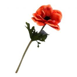 salg af Anemone, koral - 35 cm. - kunstige blomster