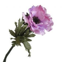 salg af Lyserød anemone, 35 cm. - kunstige blomster