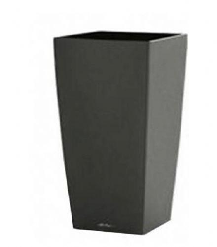 salg af Antrasit grå plast krukke, 30*60 cm.