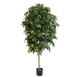 salg af Appelsintræ - højde 170 cm. - kunstige træer