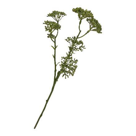 salg af Blomst m/små bær, grøn - 43 cm. - kunstig blomster