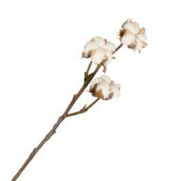 salg af Bomuldsgren 40 cm. - hvid