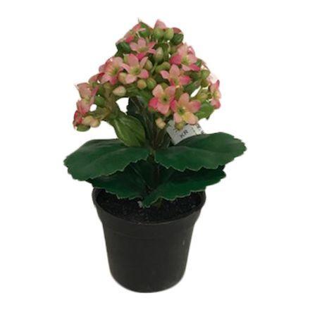 salg af Brændende kærlighed, pink - 15 cm. - kunstige blomster