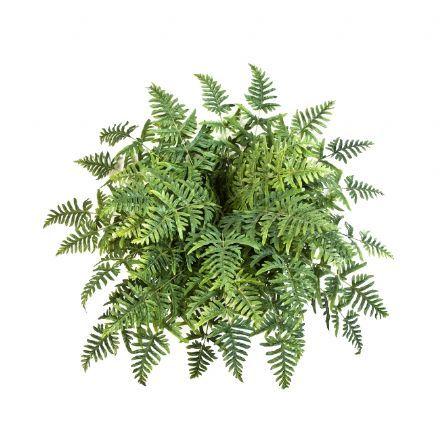 salg af Bregne uden potte 45 blade ø 100 cm. - kunstig plante