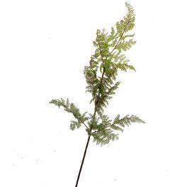 salg af Bregnegren - grøn - 90 cm. - Kunstig gren