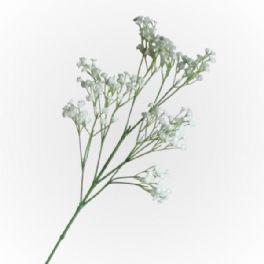 salg af Hvid brudeslør - 65 cm. - kunstige blomster