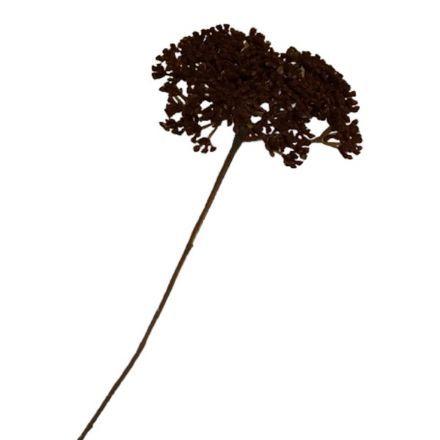 salg af Achillea, brun - 60 cm. - kunstige blomster