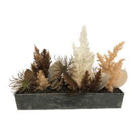 salg af Brun dekoration, H24 cm. - kunstige blomster