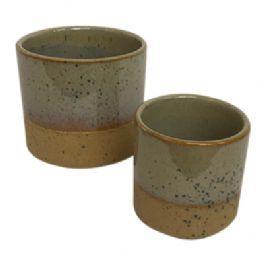 salg af Brun skjuler m/struktur - Ø7,5H7 cm.