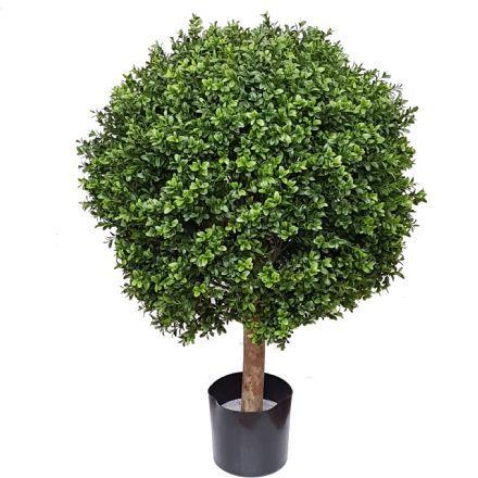 salg af Buksbom kugle, Ø60*H90 cm. - kunstige træer