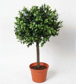 salg af Buksbom kugle, Ø35*H45 cm. - kunstige træer