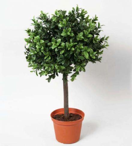 salg af Buksbom kugle, Ø30*H45 cm. - kunstige træer