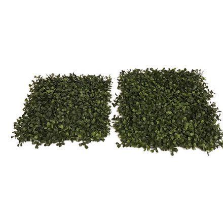 salg af Buksbom måtte, grøn - 35*35 cm. - kunstig buksbom