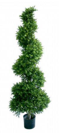 salg af Buksbom spiral, 130 cm. - kunstige træer