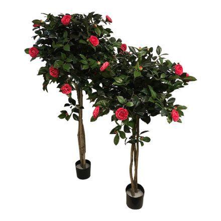 salg af Camelia træ, cerise - 160 cm. - kunstige træer