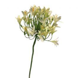 salg af Creme agapanthus - 90 cm. - kunstige blomster