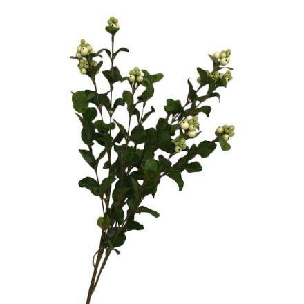 salg af Creme bær blomst - 60 cm. - kunstige blomster