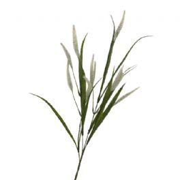 salg af Hvid pennisetum - 70 cm. - kunstige blomster