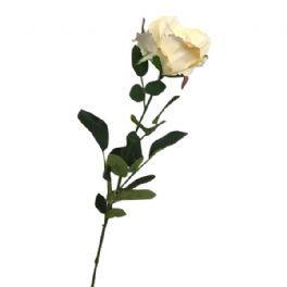 salg af Creme rose - 70 cm. - kunstige blomster