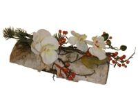 salg af Dekoration p� birk - med Orkidegren