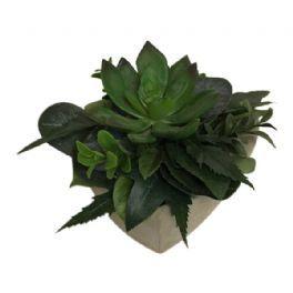 salg af Kirkegårdsdekoration, H14 cm. - kunstige blomster