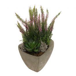 salg af Kirkegårdsdekoration, H25 cm. - kunstige blomster