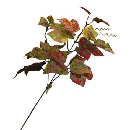 salg af Efterårsgren, gyldne farver - 55 cm. - kunstige grene
