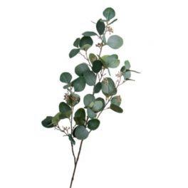 salg af Eucalyptus gren - grøn - 90 cm. - Kunstig gren