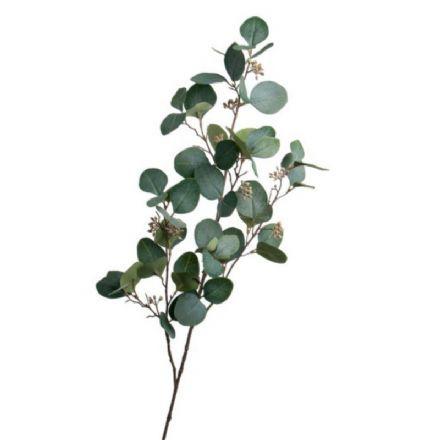 salg af Eucalyptus gren, grøn - 75 cm. - Kunstige grene