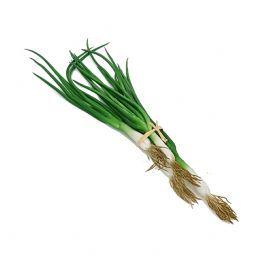 salg af Fårårsløg - bundt 4 stk - 3o cm. - kunstig grøntsag