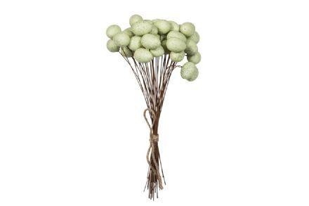 salg af Falmingo æg, grøn - 3 stk. - 2,5*3,5 cm.