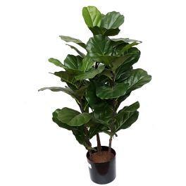 salg af Fiddle Leave - højde 100 cm. - kunstig plante