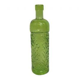 salg af Flaske - grøn - 23 cm. - recycled glass