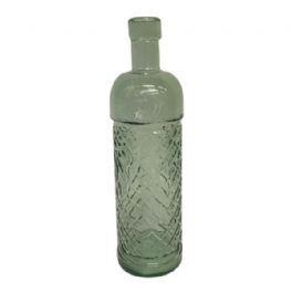salg af Flaske - lysgrøn - 23 cm. - recycled glass