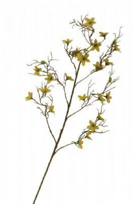 salg af Forsytiagren 90 cm. - kunstig gren - kunstig blomst