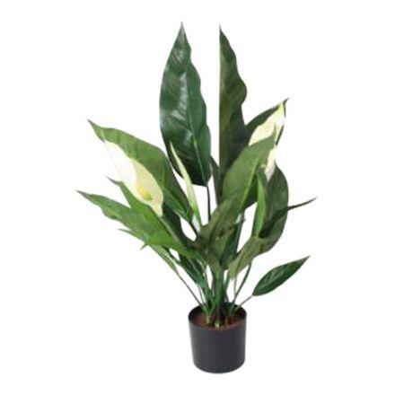salg af Hvid Fredslilje, 53 cm. - kunstige blomster
