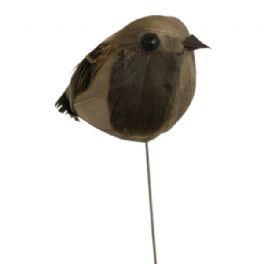 salg af Fugl på pind, 4*6 cm.