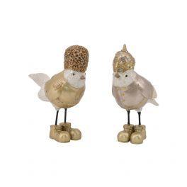 salg af Fugle, guld - sæt a´2 stk.