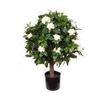 salg af Gardenia Ball, hvid - H80 cm. - kunstige træer